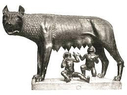 La lupa allatta Romolo e Remo