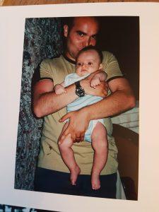 papà e bimbo assieme