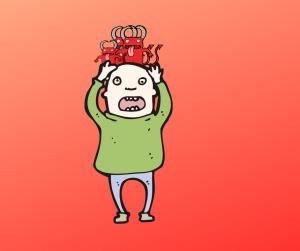 avere un diavolo per capello